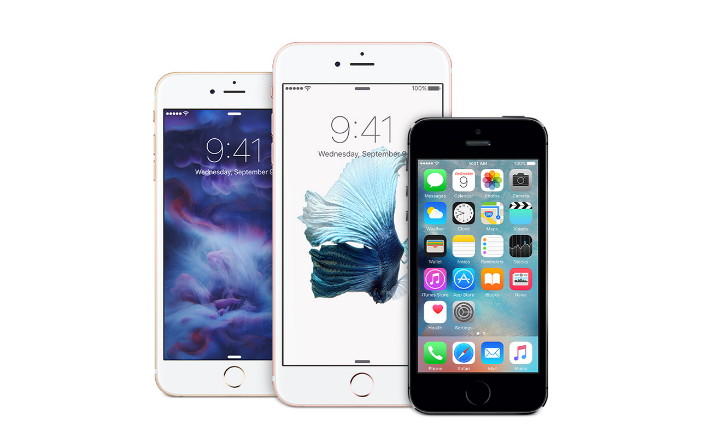 Apple's iPhone 6S.  (Image Credit: Apple)