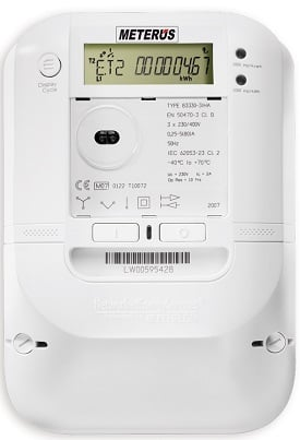 Smart meter device used to interface with gas and water meters. Source: EVB Energy Ltd / CC BY-SA 3.0