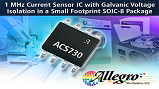 ACS730 Hall-effect current sensor IC. Source: Allegro Microsystems