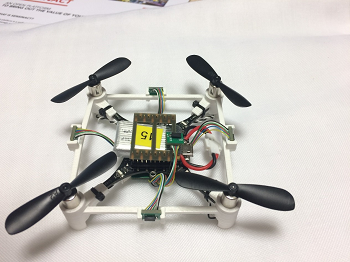 The 360Fusion anti-crash system embedded in a drone. Source: Leti
