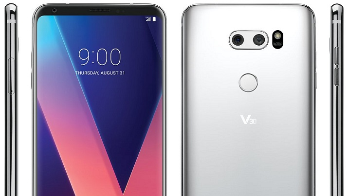 Leaked photo of the upcoming LG V30. Source: @evleaks
