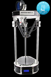 SeeMeCNC Orion Delta - $1099 (ready to run) or Rostok MaxV2 - $999 (DIY kit)