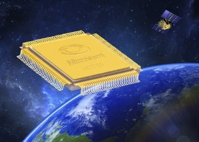 Microsemi's second radiation-tolerant motor controller can be used for new satellites and human-based space programs. Source: Microsemi