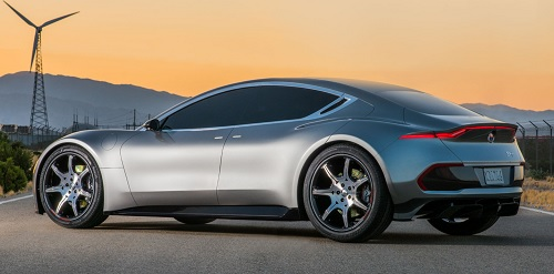 The EMotion electric vehicle prototype. Source: Fisker