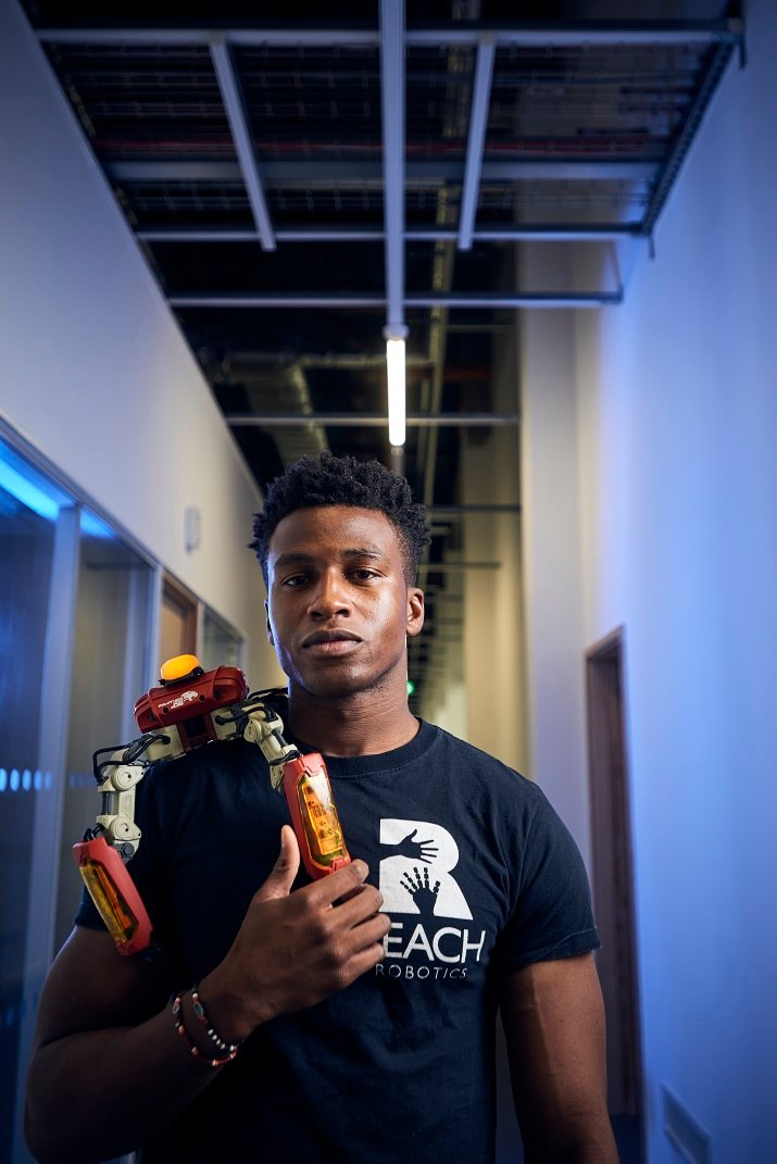 Founder and CEO of Reach Robotics Silas Adekunle