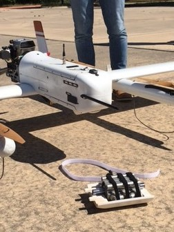 The delivery drone used to break the longest delivered package record. Image credit: NIAS