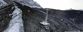 The cable car system operating at Zugspitze, the Bavarian Alps peak that is Germany's highest. Source: ABB
