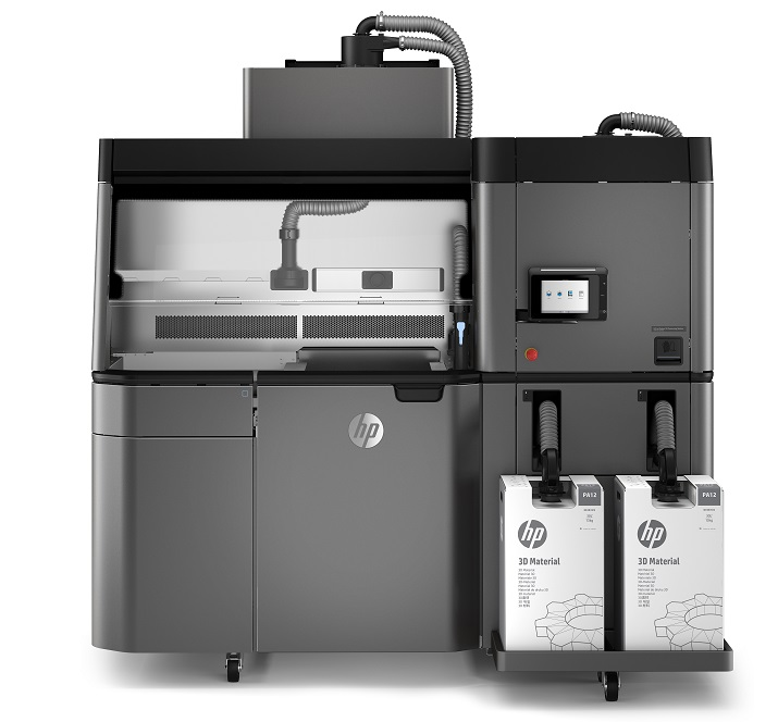 The HP Jet Fusion 3-D Printer will use open materials and software in an effort to lower barriers to adoption of the technology. Source: HP