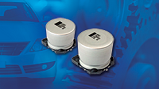 Automotive Grade 146 CTI and 160 CLA series surface-mount aluminum capacitors. Source: Vishay Intertechnology Inc.
