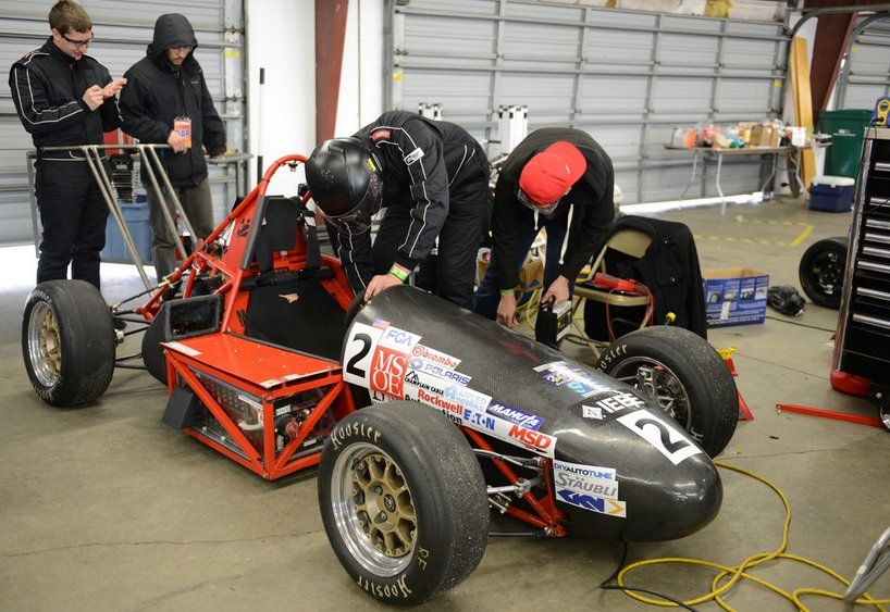 Mozee Motorsports from the MSoE. Image credit: Thayer School of Engineering