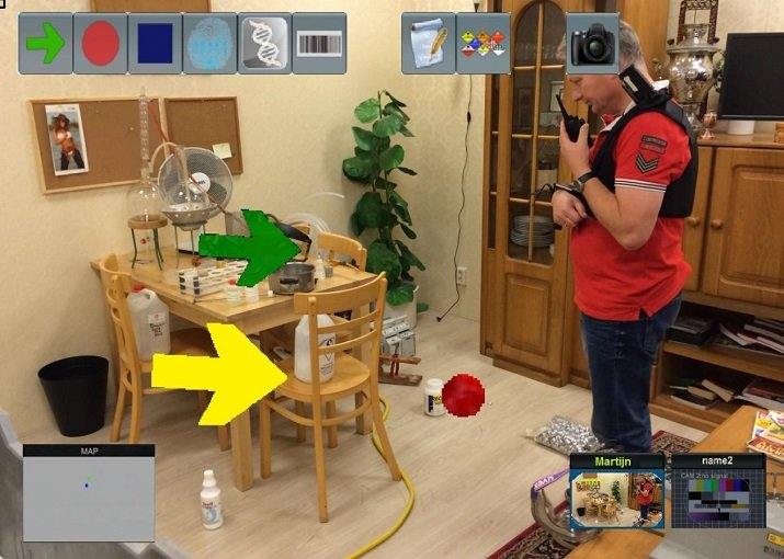 Using augmented reality might allow an inexperienced investigator to link up virtually with an inexperienced investigator in another location. Source: Delft University of Technology