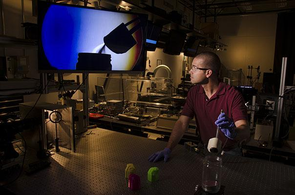 The 3-D-printed artificial nose is capable of detecting explosive vapors and other contraband better than current systems by as much as 10 times. Source: NIST