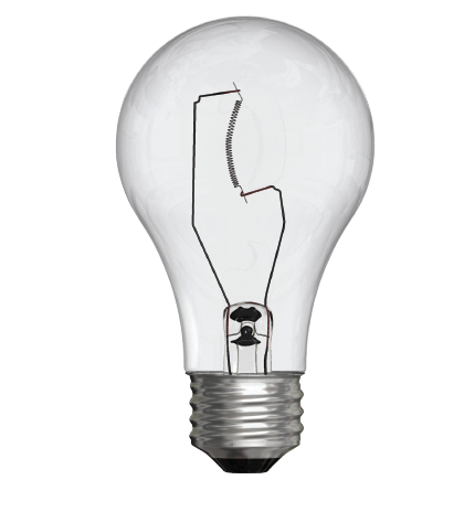 Perhaps the most common form of lighting in North America, the incandescent bulb has begun to fade from the lighting landscape, driven by its high energy consumption. Only its low price point has extended its market presence. Image source: GE Lighting