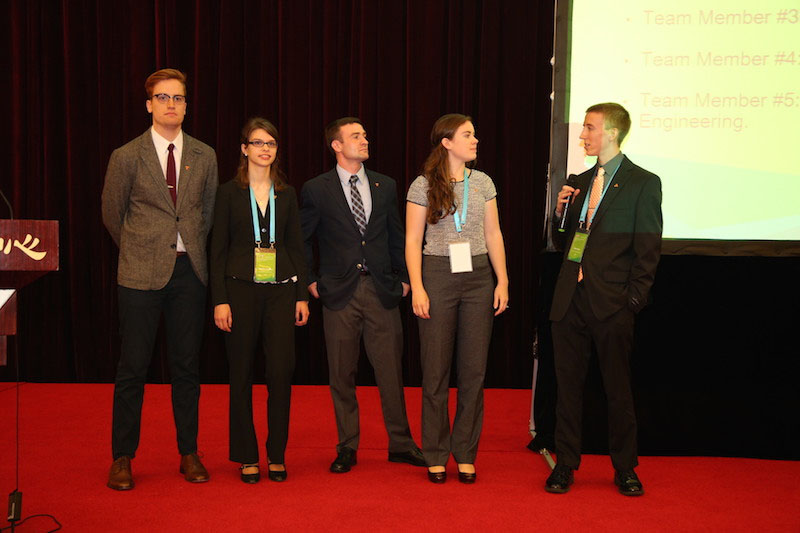 A team presentation at the 2nd Grand Challenges Summit, Beijing, China, 2015.  Source:  NAE