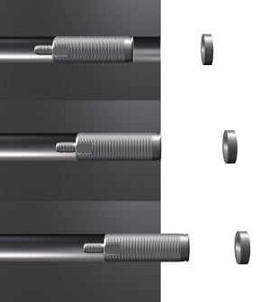 Figure 5: Flexible mounting options make magneto-inductive sensors ideally suitable for integration into machines. (Source: Micro-Epsilon)