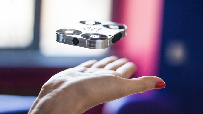 The AirSelfie combines a love of selfie photos with drone flying. Source: AirSelfie Holdings Ltd.