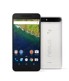 The Nexus 6P includes a 518ppi AMOLED, octa-core Qualcomm Snapdragon processor and extended battery power.