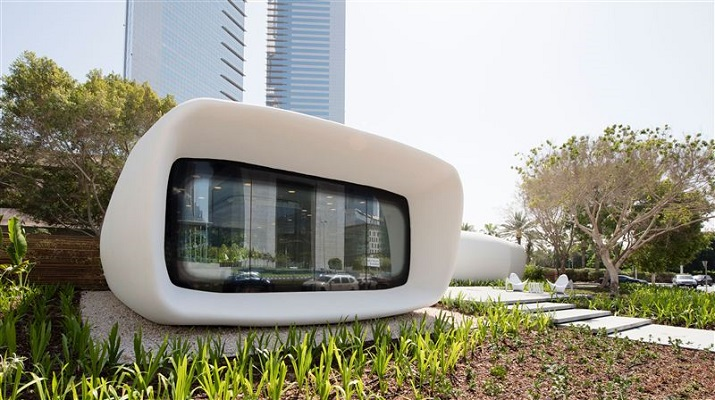 The 250-square-meter office space will be used as the temporary office of Dubai's Future Foundation. Source: Government of Dubai