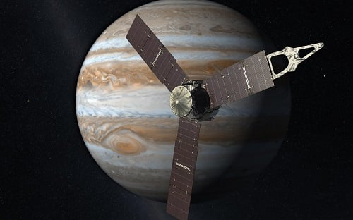 NASA recently revealed the first science data of Jupiter it garnered from the Juno probe. Source: NASA
