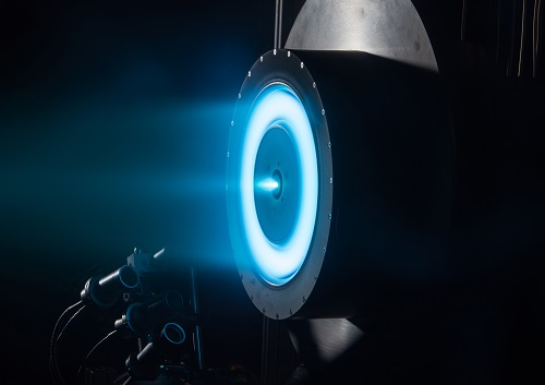 The solar electric propulsion system being developed by Glenn Research Center. Source: NASA