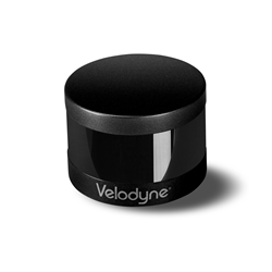 Velodyne LiDAR's ULTRA Puck VLP-32A sensor features 32 LiDAR channels, deployed across a 28° vertical field of view. (Source: Velodyne LiDAR)