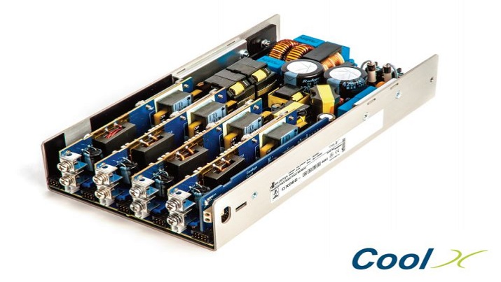 Convection-cooled modular power supply series CoolX600 comes with medical safety approvals.