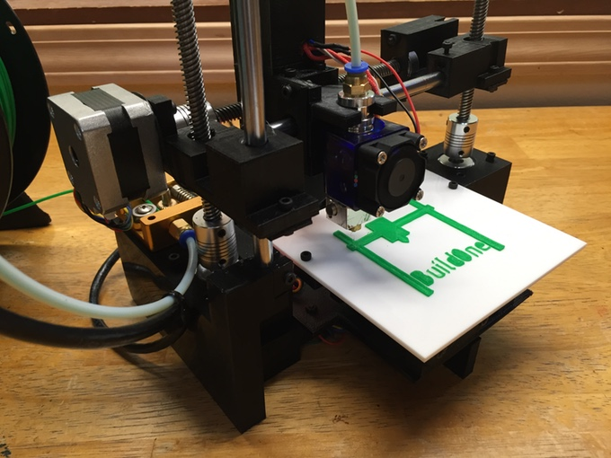 A $99 3-D printer with auto bed leveling and WiFi. Source: Robotic Industries