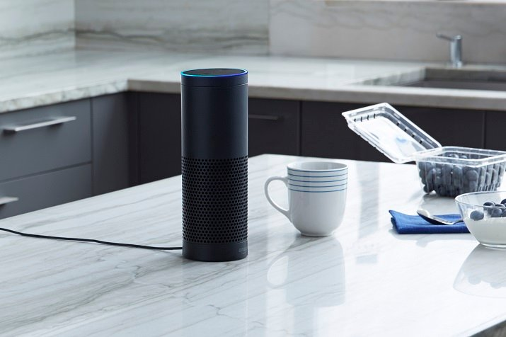 The Amazon Echo allows consumers to control other home automation devices as well as manage tasks performed in everyday life. Source: Amazon