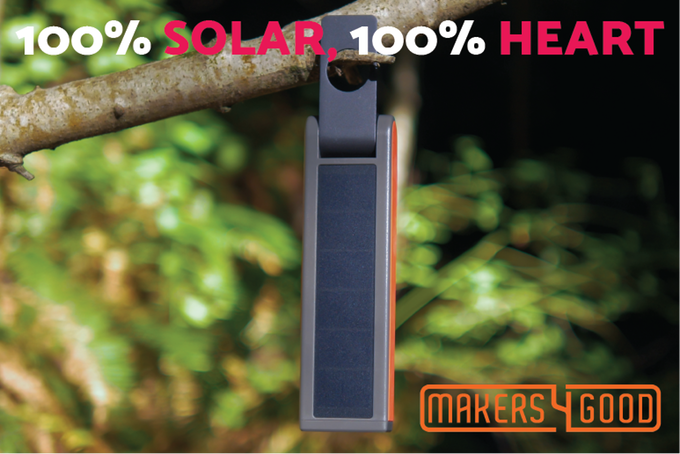 The HELIO power and light source from Makers4Good. Source: Makers4Good/Kickstarter