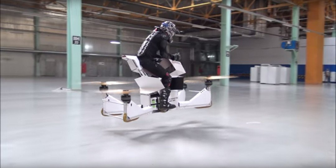 The hoverbike from Hoversurf (Hoversurf)