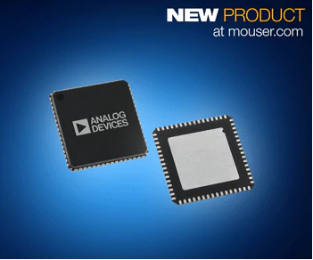 The new device from Analog Devices, now stocking at Mouser Electronics (Mouser)