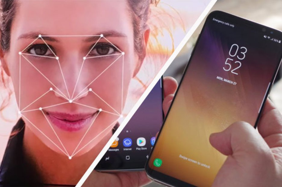 The new technology being displayed at CES will enhance facial recognition on smartphones. Source: DailyStar/Samsung