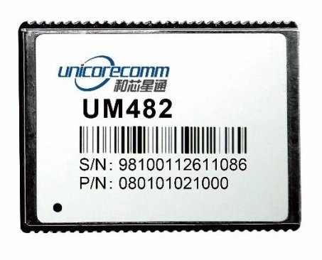 The UM482 GNSS module. Source: Unicore