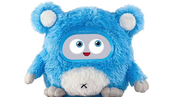 Woobo is an interactive AI robot for kids. Source: Woobo Inc.