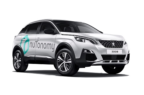 NuTonomy's self-driving vehicles will be used in research and development in conjunction with Lyft. (Source: NuTonomy)