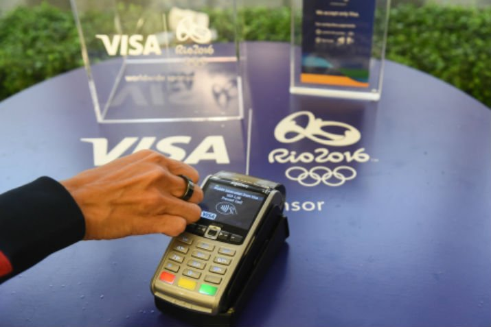 This Visa payment ring is the first-ever NFC-enabled, tokenized payment ring. (Image Credit: Business Wire)