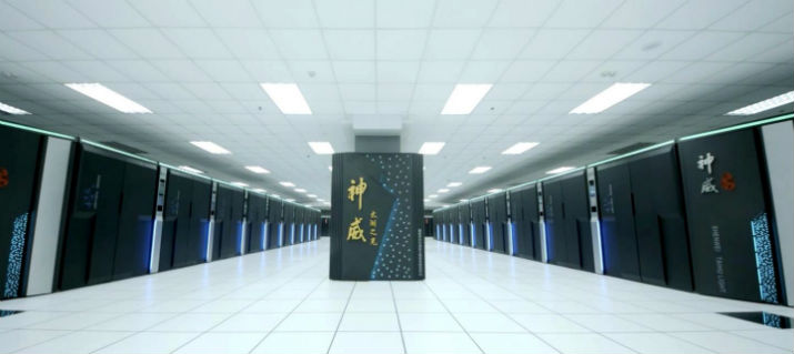 The Sunway TaihuLight Supercomputer. (Image Credit: Science China Press)