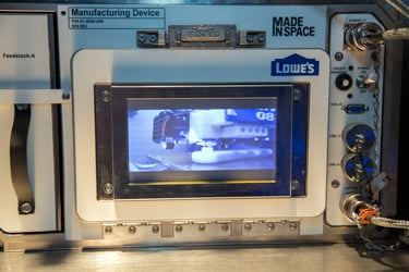The Lowe's 3-D printer that will arrive in space next year. Image Credit: Lowe's