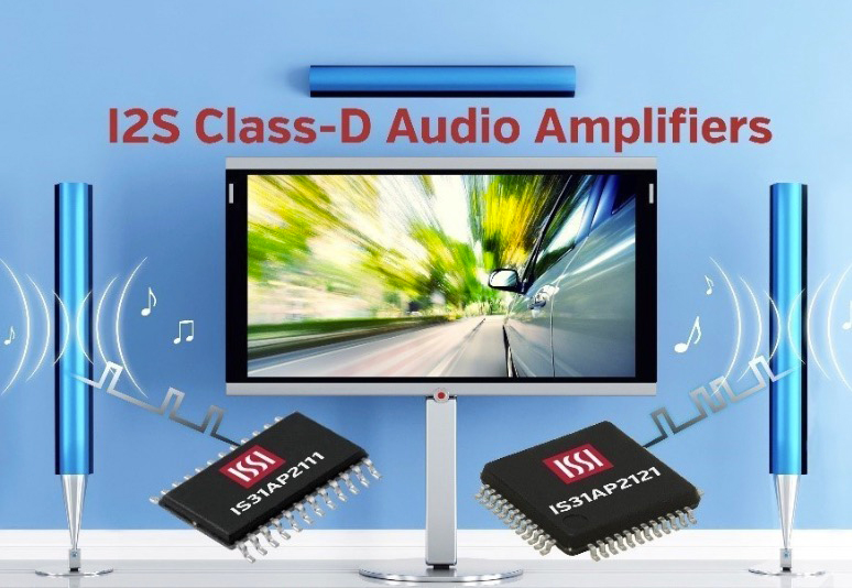 I2S Class-D Amplifiers Support 20W Stereo and 40W Mono | Electronics360