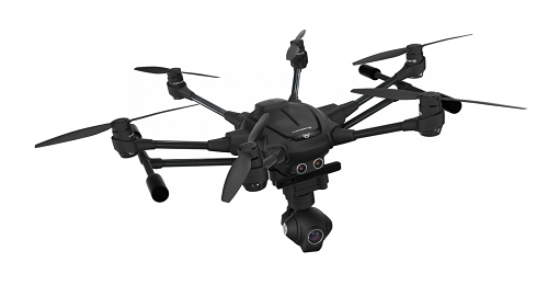 The Typhoon 4 Plus is a professional camera drone that is super expensive. Source: Yuneec