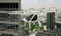 Dubai's drone taxi. Source: Volocopter