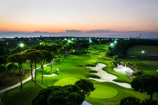 Philips is powering LED lighting for the Montgomerie Maxx Royal Belek Golf Resort in Turkey. Source: Philips