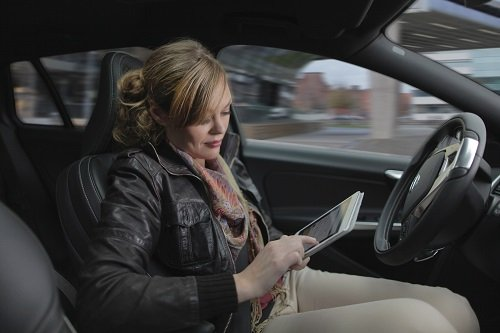 Volvo launched a self-driving car project in Gothenburg, Sweden to test how they work on real roads with real families. Source: Volvo