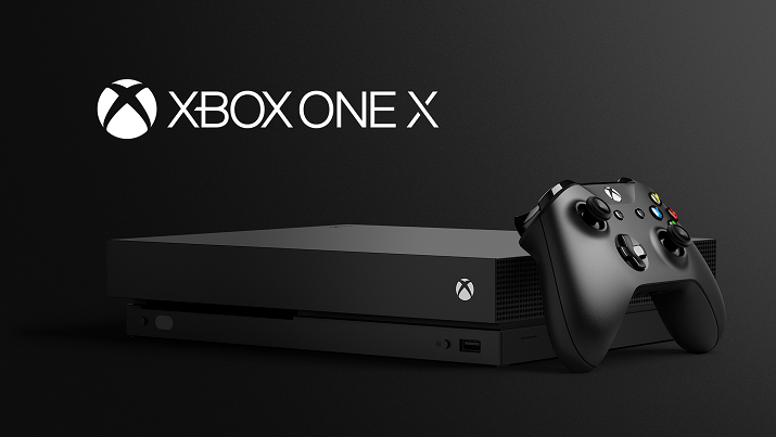 The New Xbox One X console. (Source: Microsoft)