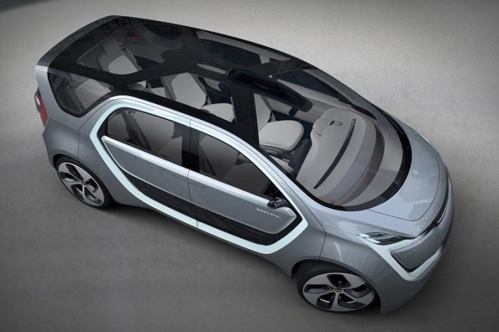 Chrysler's Portal concept car features autonomous driving, 5 feet wide opening doors and a nearly transparent roof. Source: Chrysler