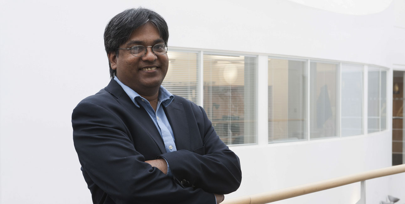 ATI Director Ravi Silva. Exciting possibilities for carbon nanotube-modified carbon fiber composites. Credit: University of Surrey