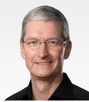 Apple CEO Tim Cook. (Source: Apple)