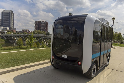 Olli is a new transportation concept focused on providing better ways of transporting those with disabilities. Source: Local Motors