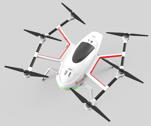 The JDrone powered by Nvidia's Jetson processor. Source: JD X