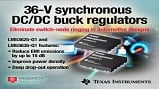 LM53625-Q1 and LM53635-Q1 synchronous buck regulators. Source: Texas Instruments